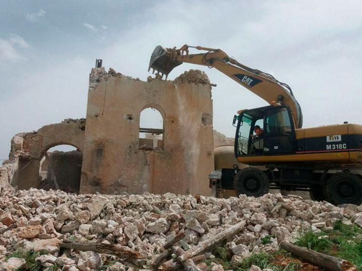 Excavaciones, derribo y demolición de edificaciones