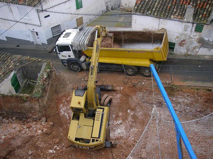 Demoliciones y transporte de residuos