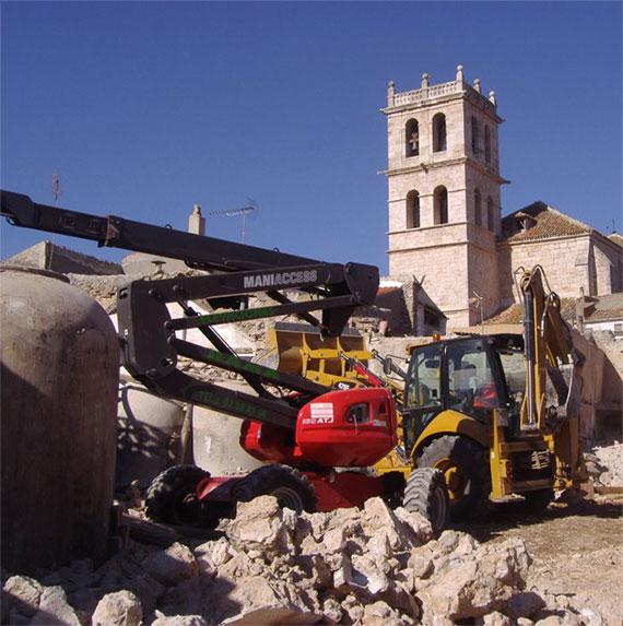 Recuperación de materiales de derribo en Madrid y Toledo